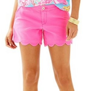 Lilly Pulitzer Hotty Pink Buttercup Ripple Shorts
